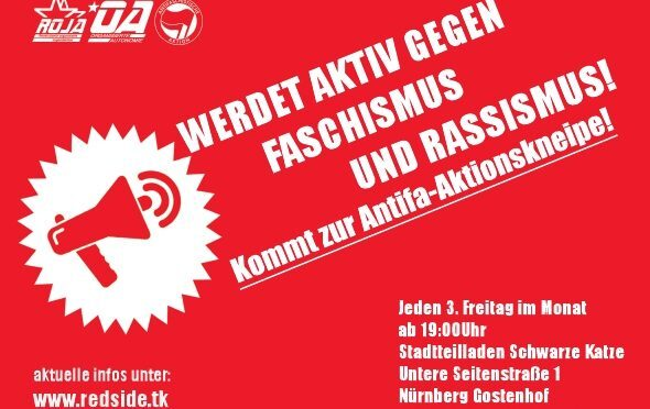 Antifa-Aktionskneipe im August – Kneipenquiz!