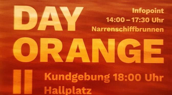 Nachbericht Day Orange II – 06.07