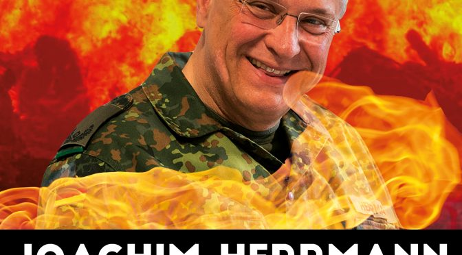 Update zu: Joachim Herrmann – Welcome to Hell + AfD Infostand in Erlangen